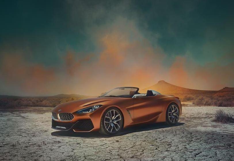 BMW Concept Z4 Debuts