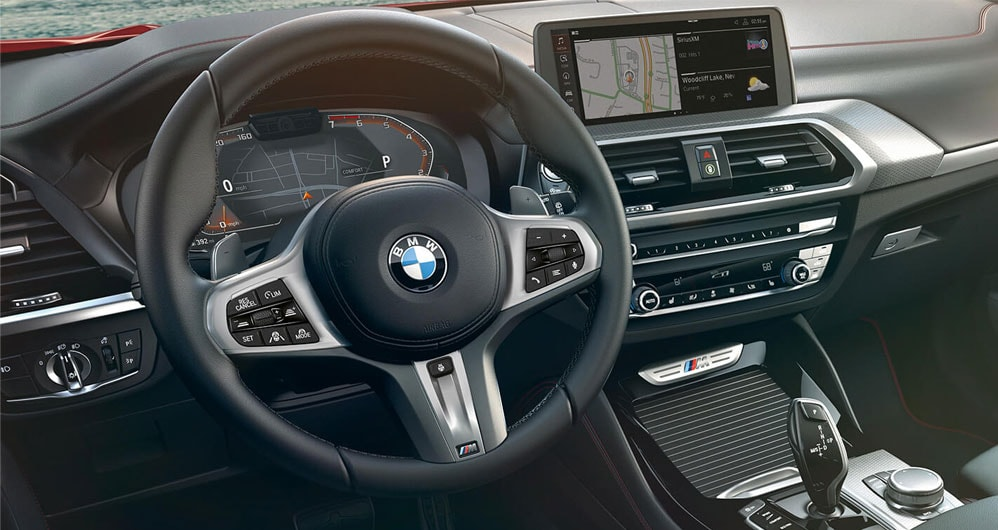 Paddle Shifters in 2020 BMW X4
