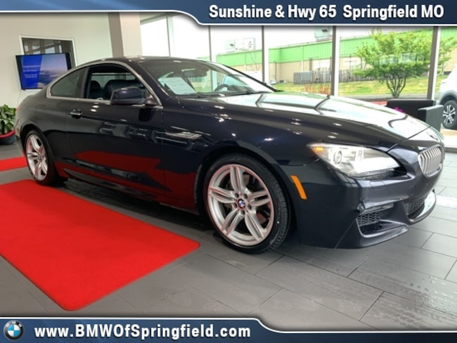 2012 BMW 6 Series 650i Coupe