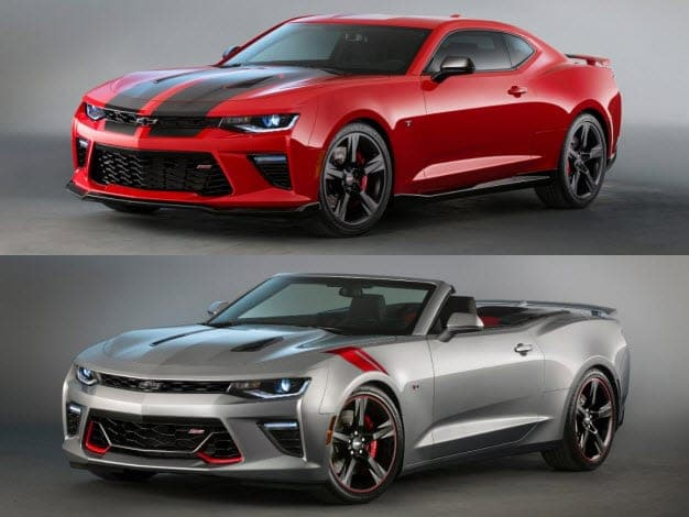 Camaro Black and Red Concepts