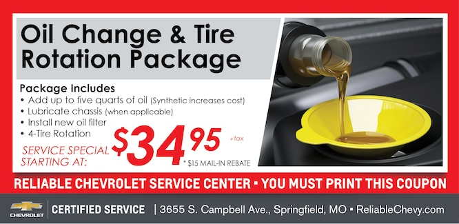 specials chevy special gmc service walsh buick serving streator chevrolet bill coupons servicecoupons