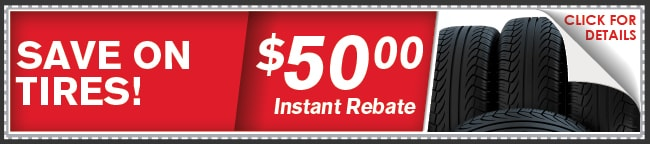 Tire Rebate Coupon, Springfield, MO