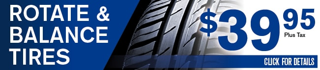 Rotate & Balance Tires Coupon, Albuquerque, NM