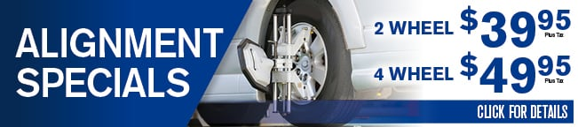 Automotive Alignment Coupon, Albuquerque, NM