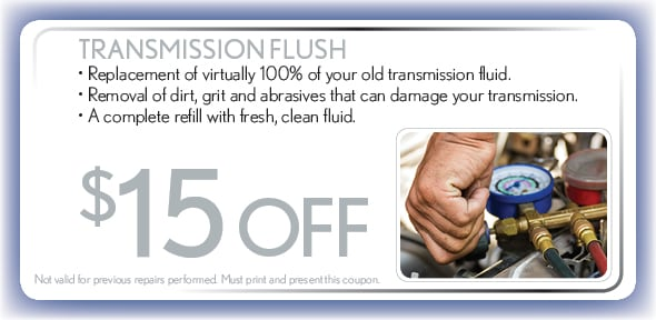 Transmission Flush Service Special, Springfield, MO Hyundai Service Coupon