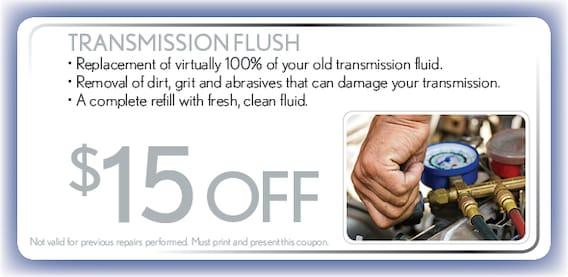 Transmission Flush Service Coupon Hyundai Auto Service Springfield Mo