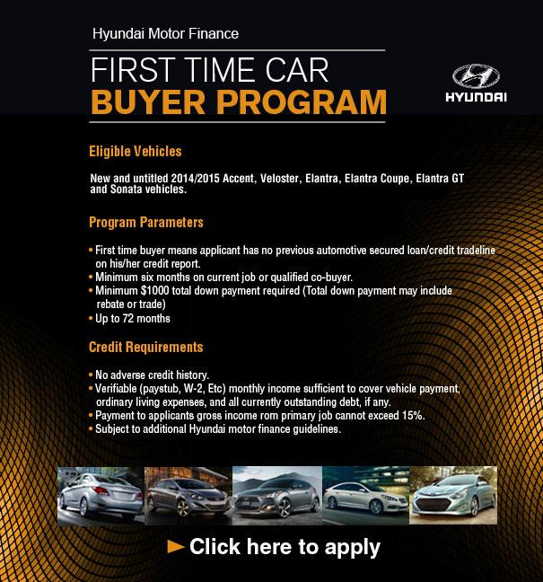 Hyundai Motor Finance First Time Buyer Program Springfield Mo