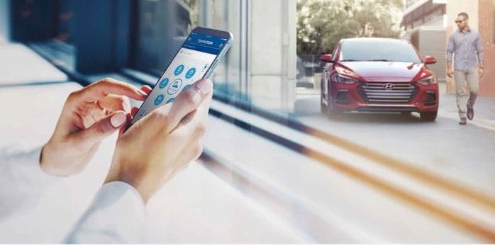 hyundai features hyundai blue link services complimentary remote services