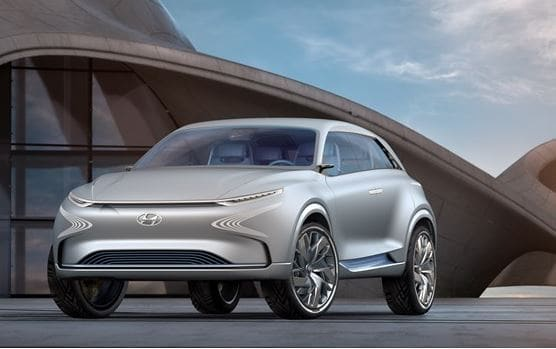 zero emission vehicles hyundai zero emission cars new hyundai fe concept
