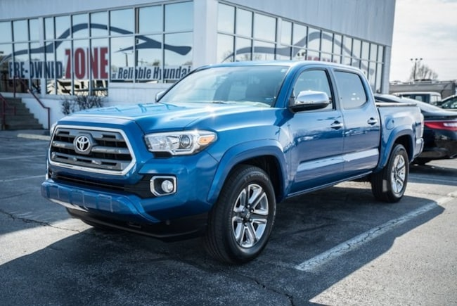 2016 Toyota Tacoma For Sale >> Used 2016 Toyota Tacoma For Sale In Springfield Mo Pw22169