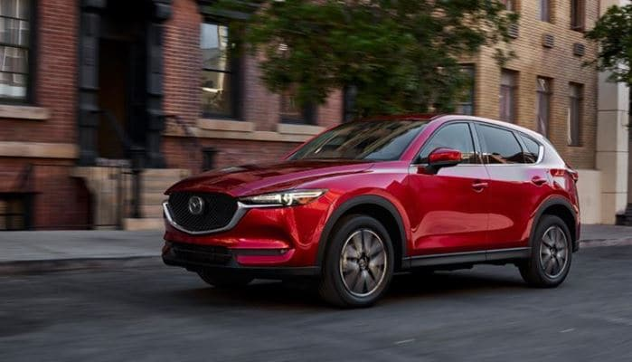 2017 Mazda CX-5 earns top safety award