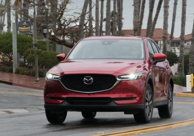 2017 mazda cx-5 earn top award