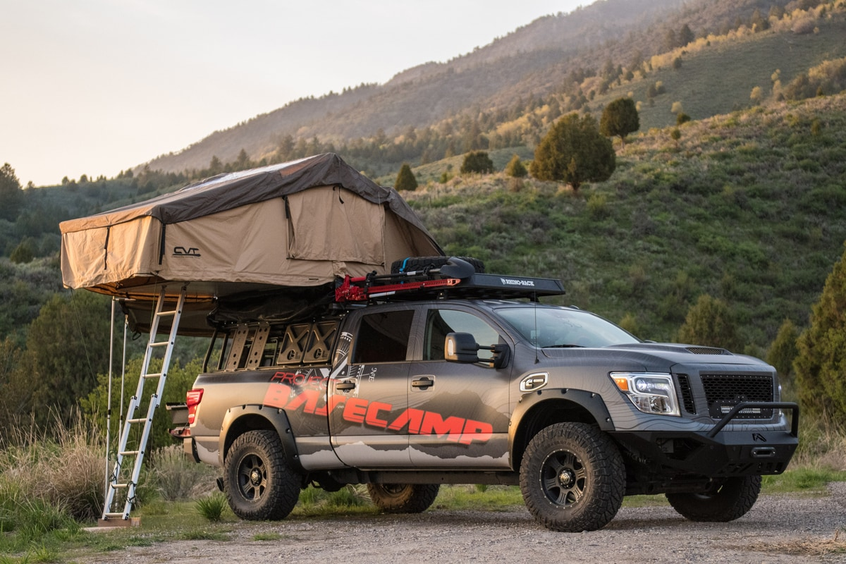 Project Basecamp TITAN XD vehicle tent