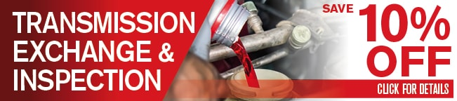 Transmission Fluid Exchange Coupon, Albuquerque