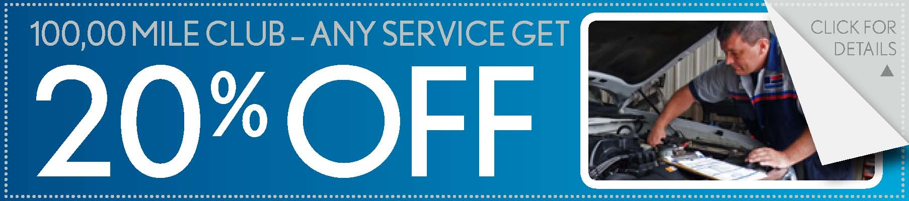 20% Off Any Service Coupon, Springfield, MO