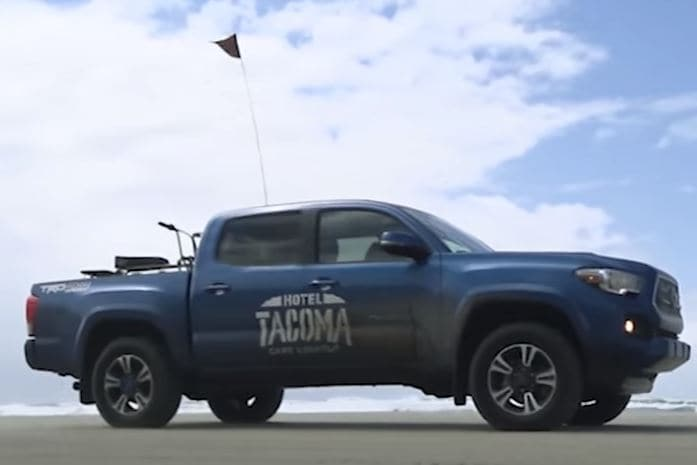 2017 Toyota Tacoma tackles a wide range of terrains