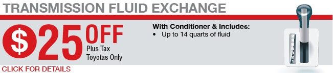 Transmission Fluid Exchange Coupon, Springfield