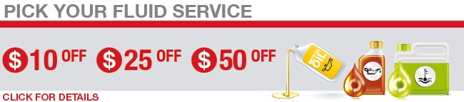 Fluid Service Coupon, Springfield