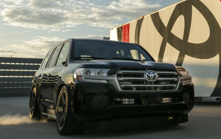 toyota land cruiser achieves world's fastest suv title