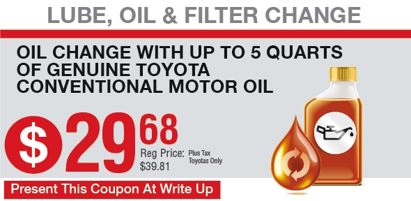 specials oil service servicecoupon coupon toyota change wts warrenton