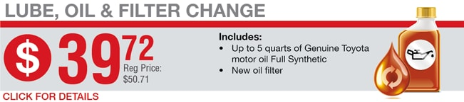 Lube Oil & Filter Change Coupon, Springfield