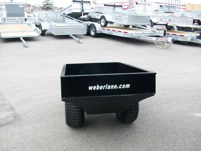 Weberlane Remorque Vtt 3\' x 5\' avec hub 2019 Neuf à vendre chez ...