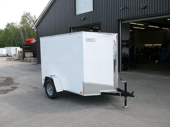 2019 Discovery 5' x 8' v-nose1 essieux utilitaire vrac contracteur