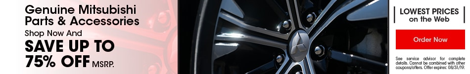 Genuine Mitsubishi Parts & Accessories 9/17/19