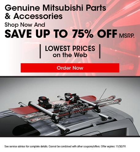 Genuine Mitsubishi Parts & Accessories