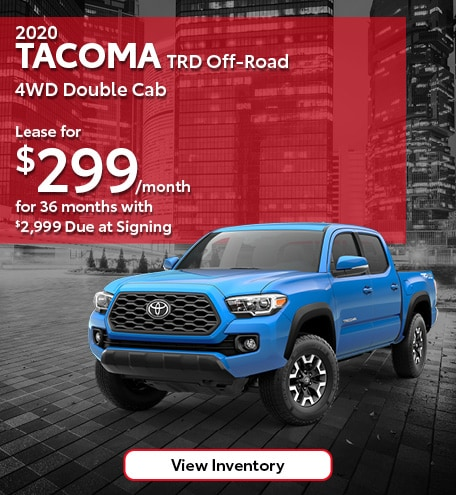 2020 Tacoma TRD Off-Road 4WD Double Cab