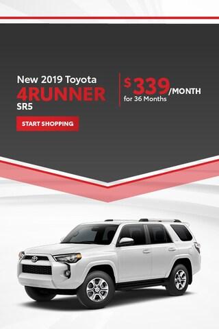 New 2019 Toyota 4Runner SR5