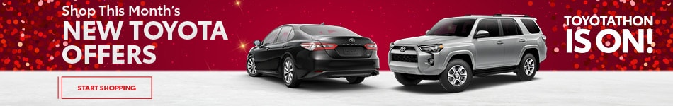 Shop This Month's New Toyota Offers