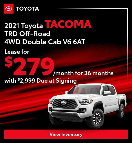 2021 Toyota Tacoma TRD Off-Road 4WD Double Cab V6 6AT