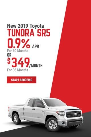 New 2019 Toyota Tundra SR5 April Offer