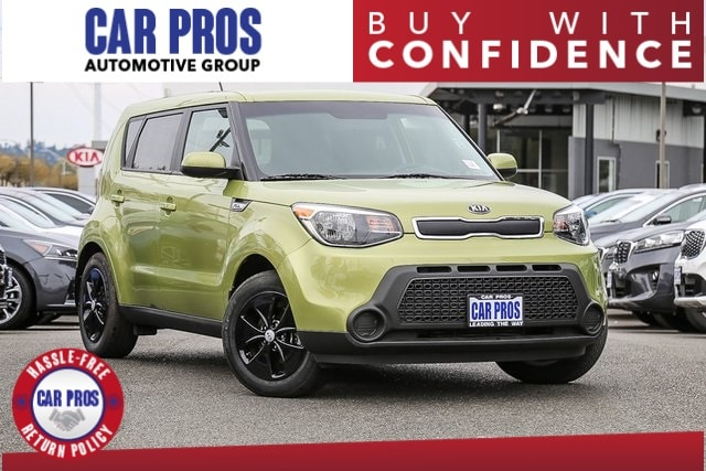 6f8439a285 2016 Kia Soul Base Hatchback