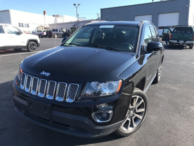 Certified Used 2015 Jeep Compass Limited SUV in Slatington