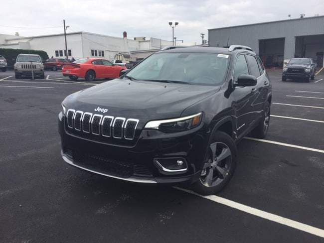 New 2019 Jeep Cherokee LIMITED 4X4 Sport Utility in Slatington