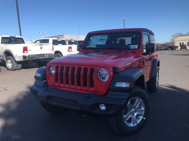 New 2019 Jeep Wrangler SPORT S 4X4 Sport Utility in Slatington