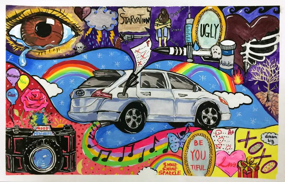 Carrefour 40 640 >> Concours de dessin Toyota