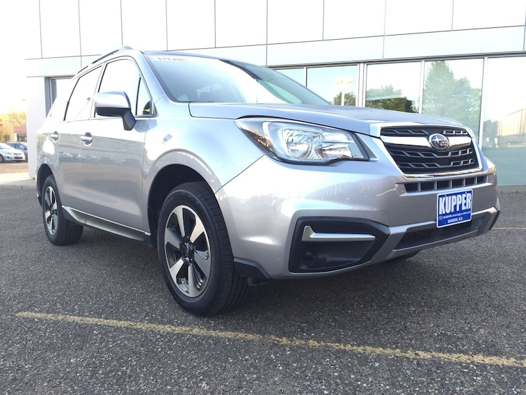 Certified Pre-Owned 2017 Subaru Forester Premium SUV for sale in Mandan, ND