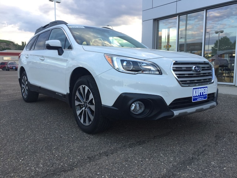 Certified Pre-Owned 2017 Subaru Outback Limited SUV for sale in Mandan, ND