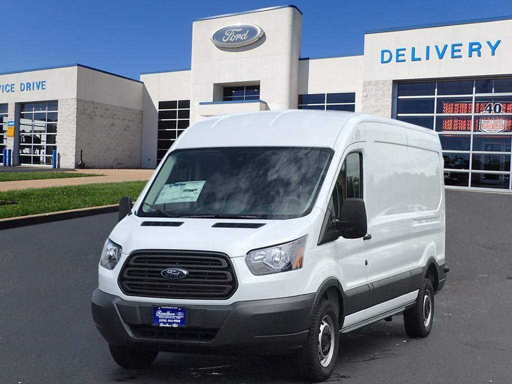 2018 Ford Transit Cargo T-250 148  MED RF 9000 GV 250  LWB Medium Roof Cargo Van w/Sliding Passenger