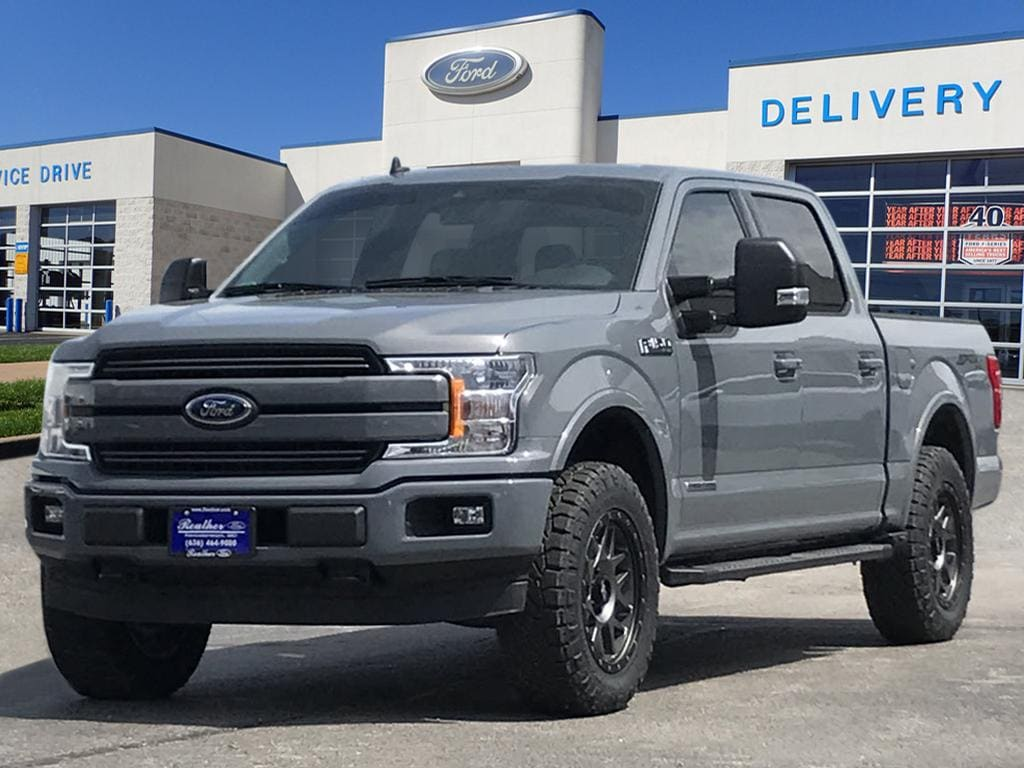 2019 Ford F-150 Lariat Truck SuperCrew Cab
