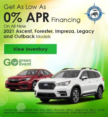 Get As Low As 0% APR Financing