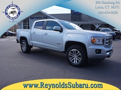 Used 2015 GMC Canyon 4WD Crew CAB 128.3 SLE 1GTG6BE30F1125420 for sale in Lyme, CT at Reynolds Subaru