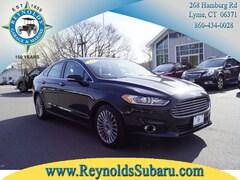 Used 2015 Ford Fusion Titanium FWD Sedan 3FA6P0K93FR184740 for sale in Lyme, CT at Reynolds Subaru