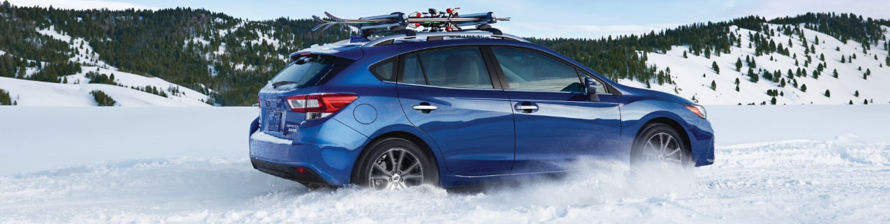 2017 Subaru Impreza in Snow