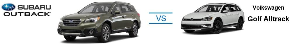 2017 Subaru Outback vs. 2017 Volkswagen Golf Alltrack