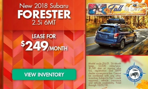 2018 Subaru Forester 2.5i 6MT