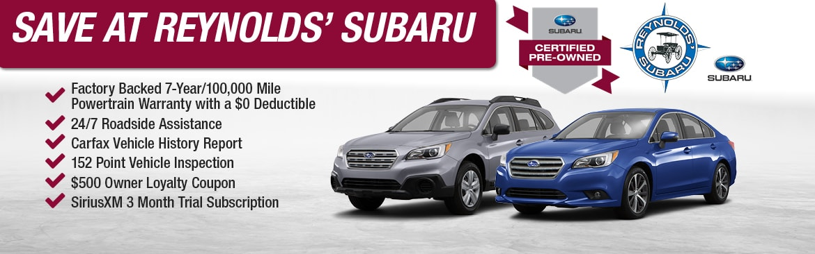 Subaru Certified Pre-Owned >> Certified Used Subaru Cars In Lyme Ct Cpo Cars For Sale